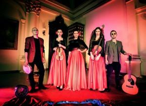 El Saffron koncert w Kawiarni Prowincjonalnej w Nowym Sączu