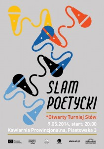 slam poetycki w Kawiarni Prowincjonalnej w Nowym Sączu