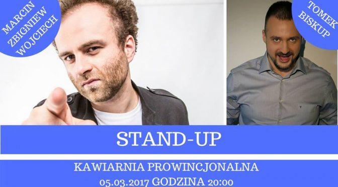 Stand-up w Prowincjonalnej: Marcin Zbigniew Wojciech
