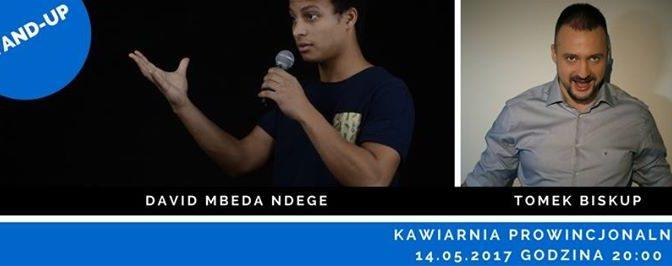 Stand-up w Prowincjonalnej: David Mbeda Ndege