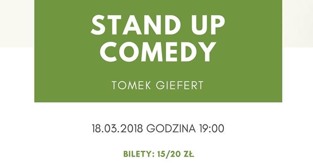 Stand-up w Prowincjonalnej: Tomek Giefert