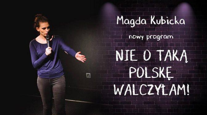 Stand Up w Prowincjonalnej: Magda Kubicka