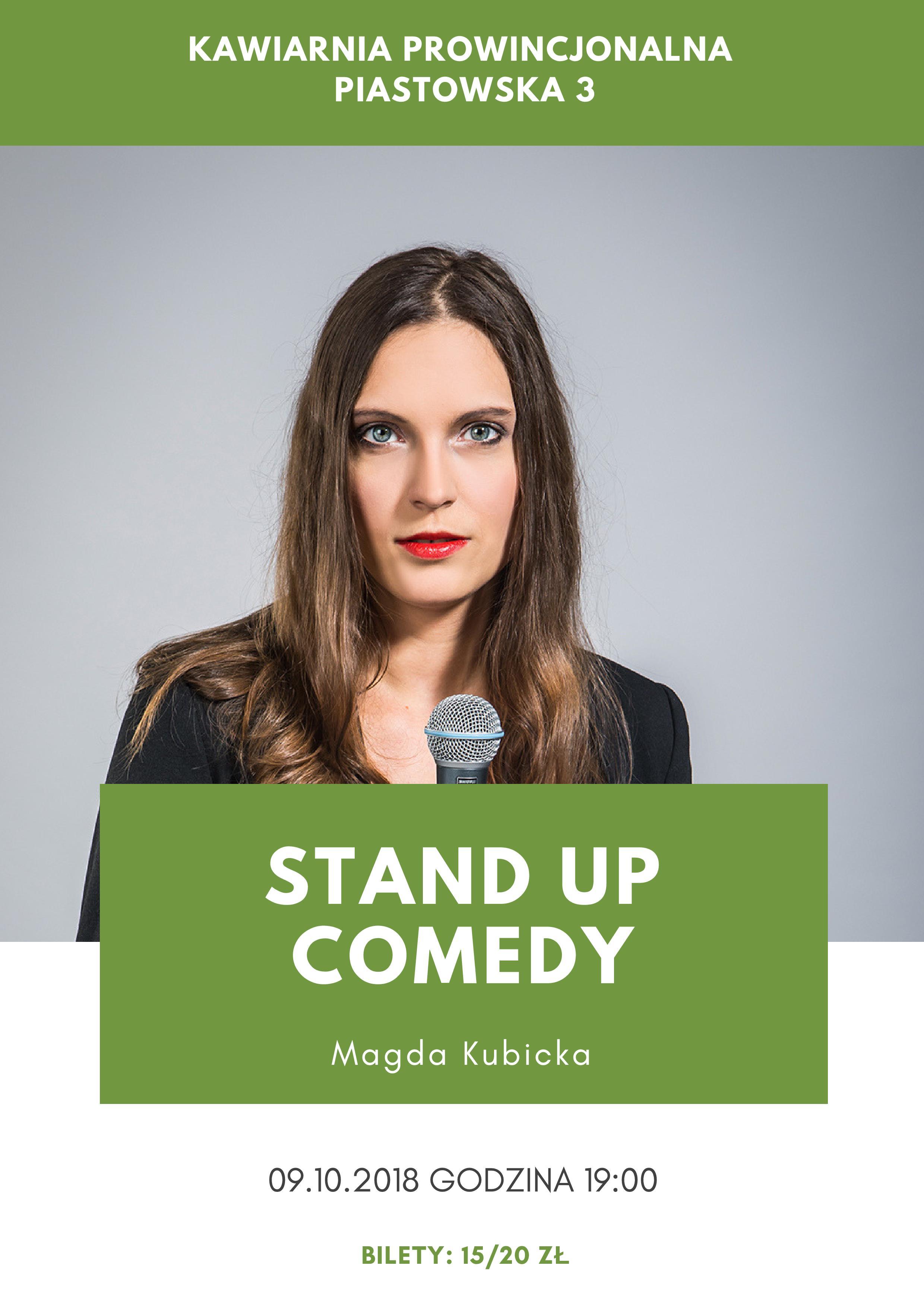 Magda Kubicka stand-up Nowy Sącz